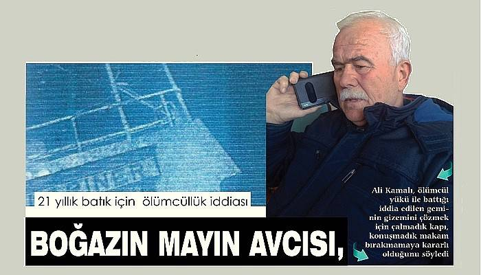 BOĞAZIN MAYIN AVCISI, ÖLÜMCÜL ZEHRİN PEŞİNDE..!