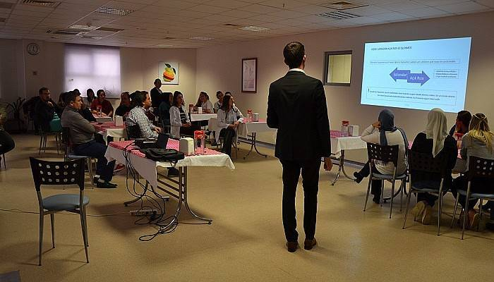 Özel Biga Can Hastanesi çalışanlarına KVKK ve Verbis semineri