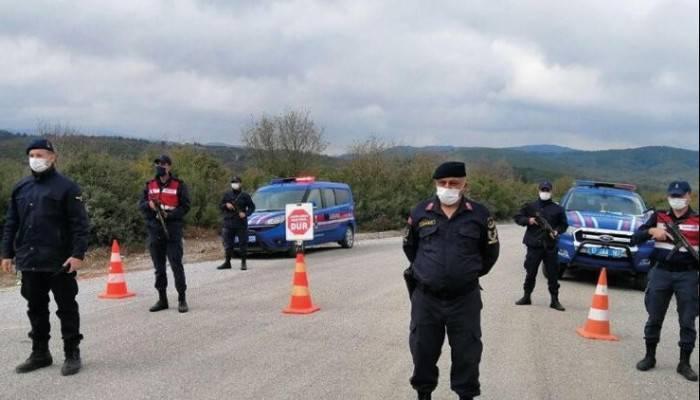 Yenice'de bir köyün karantina süresi uzatıldı