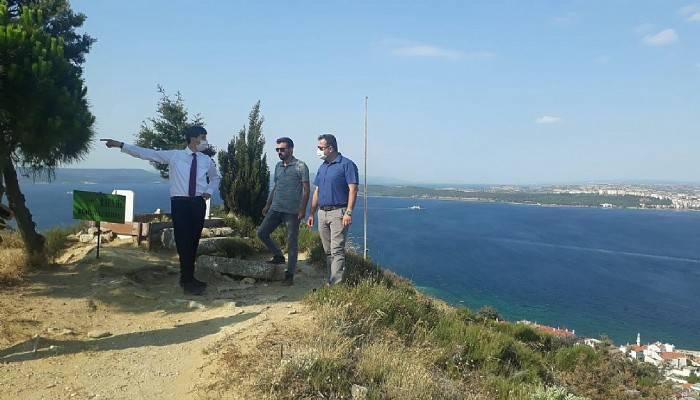 Bu Terastan Bakanlar Çanakkale'nin Seyrine Doymayacak