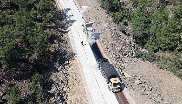 11 köy asfalt yolla birbirine bağlandı(VİDEO)