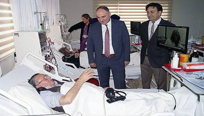 Diyaliz ünitesi hasta kabulüne başladı