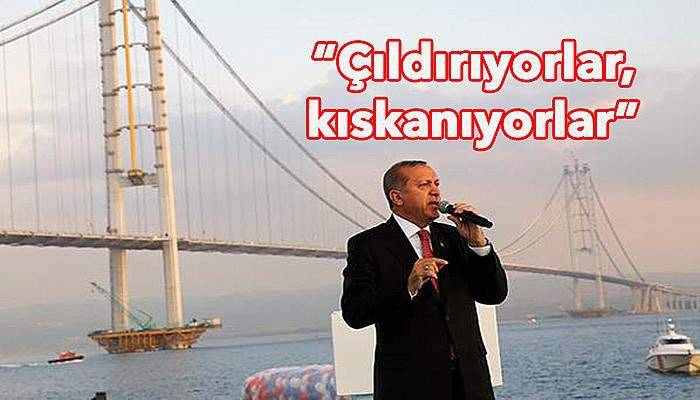 Cumhurbaşkanı Erdoğan Çanakkale 1915 Köprüsü için konuştu