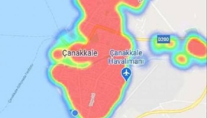 Şehir kırmızı alarm veriyor