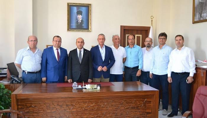 Biga TSO'dan Yeni Kaymakam Mustafa Can'a Hayırlı Olsun Ziyareti