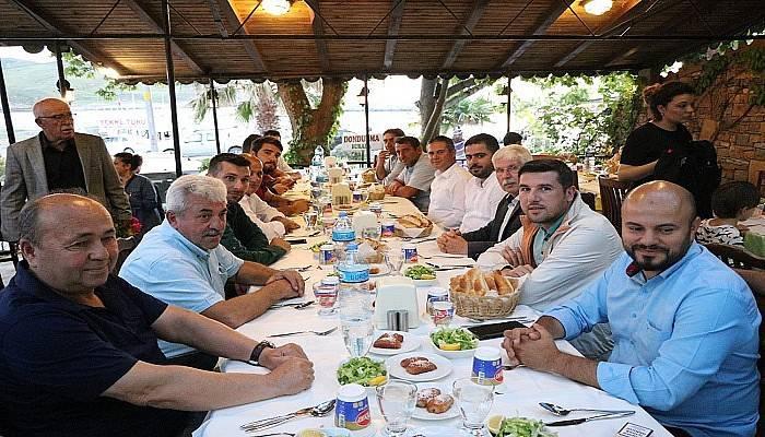 AK Parti Gökçeada'da iftara katıldı