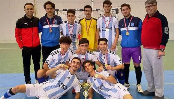 Biga Mehmet Akif Ersoy Anadolu Lisesi İl Şampiyonu Oldu