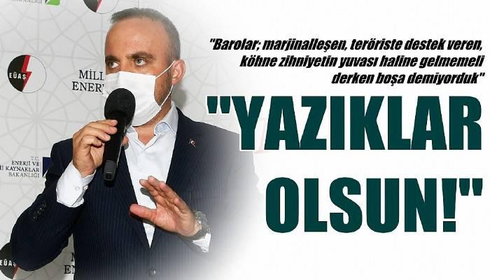 Turan: 'CHP'li yöneticiler, milletimize ve şehit savcımıza ihanet etmiştir'