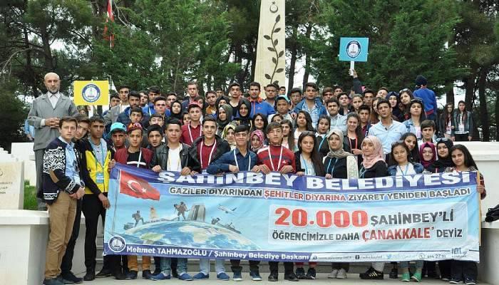 42 bin kişi Çanakkale'de ecdadıyla buluştu!