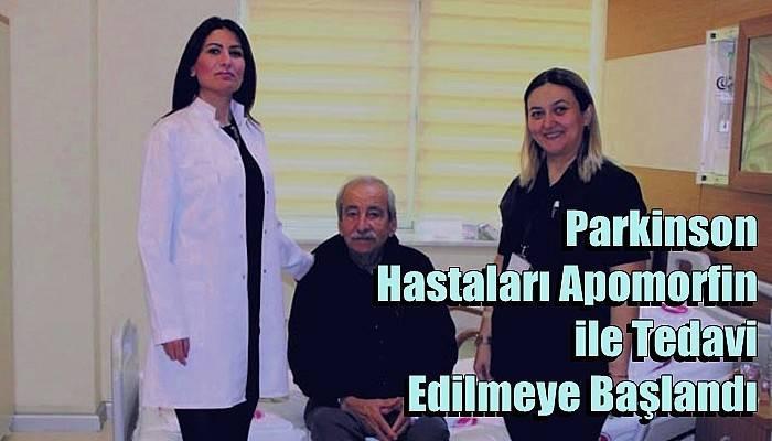 Parkinson Hastaları Apomorfin ile Tedavi Edilmeye Başlandı