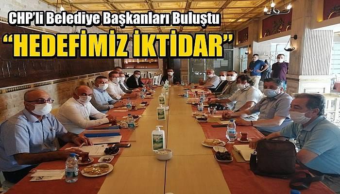 CHP'li Belediye Başkanları Buluştu
