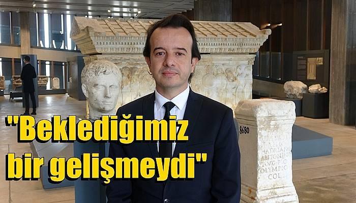 Troya Müze Müdürü Gölcük: 'Beklediğimiz bir gelişmeydi' (VİDEO)