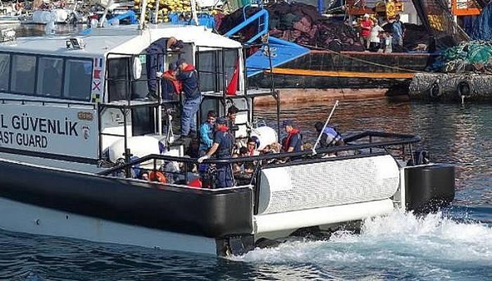 Çanakkale'de 140 kaçak göçmen yakalandı (VİDEO)