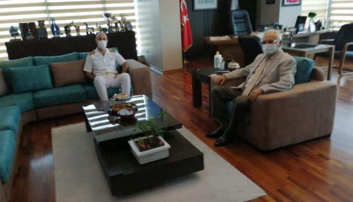 Boğaz ve Garnizon Komutanından Başkan Gökhan'a İade-i Ziyaret