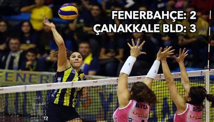 Boğazın Sultanları Fenerbahçe'yi devirdi