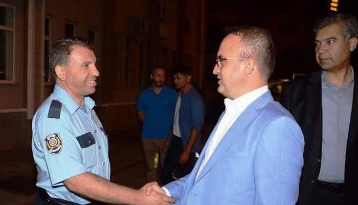 Turan, İl Emniyet Müdürlüğü'nü ziyaret etti