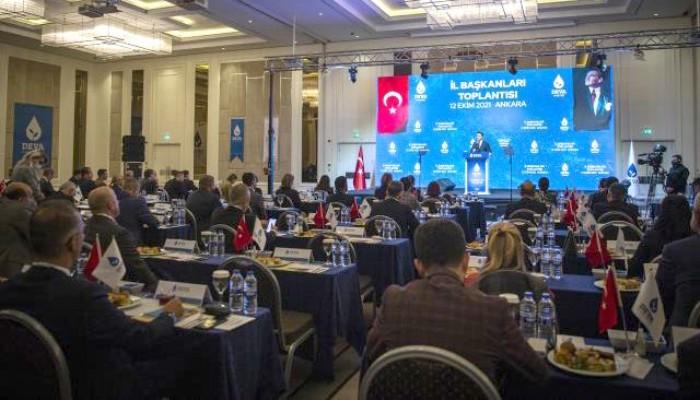 BERKAN KARACA 6. İL BAŞKANLARI TOPLANTISINA KATILDI: Babacan Kasım ayında Çanakkale'ye gelecek