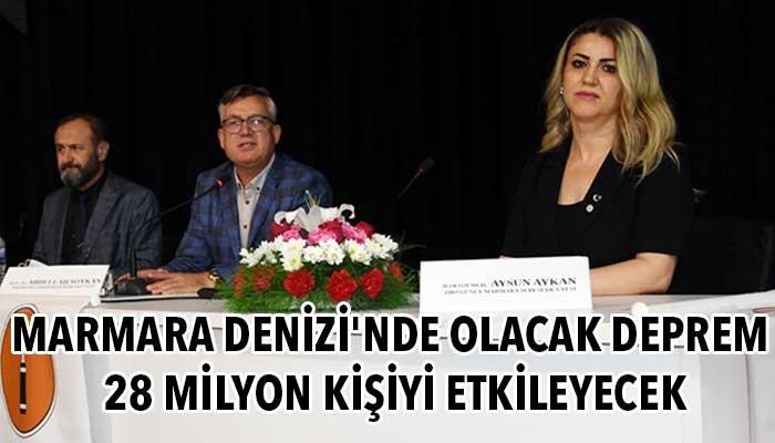 Marmara Denizi'nde olacak deprem 28 milyon kişiyi etkileyecek