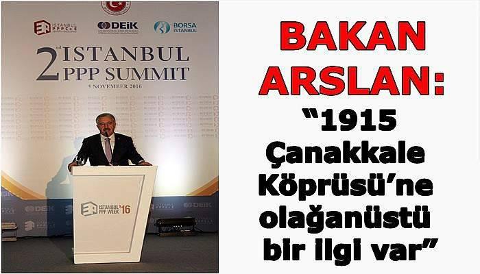 """""""1915 Çanakkale Köprüsü'ne olağanüstü bir ilgi var"""""""