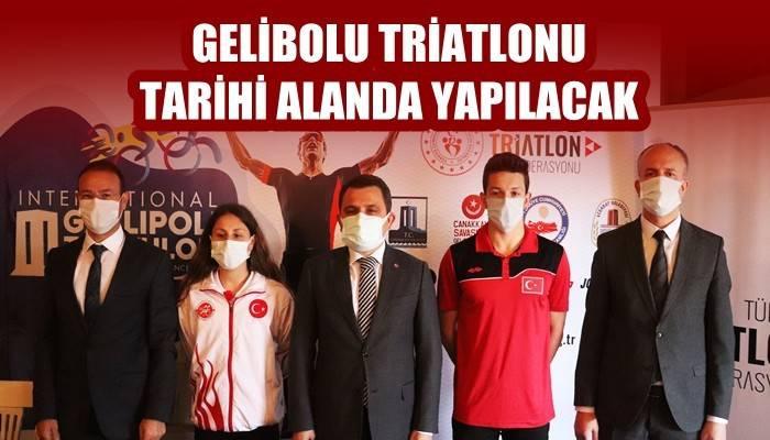 Gelibolu Triatlonu 22-23 Mayıs'ta Tarihi Alanda yapılacak