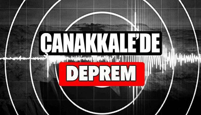 Çanakkale'de depremler sürüyor