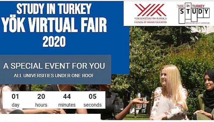 ÇOMÜ Study in Turkey YÖK Sanal Fuarı 2020'de öğrencilerle buluşuyor