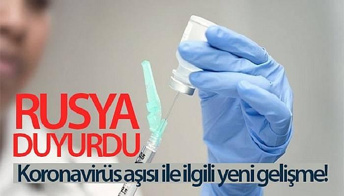 Rusya'da, korona virüs aşısının ilk parti üretiminin dağıtımına başlandı