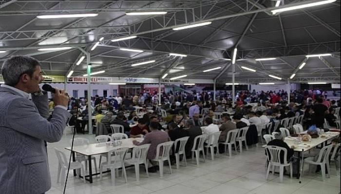 Dondurma köylüleri 11. iftar yemeğinde buluştu