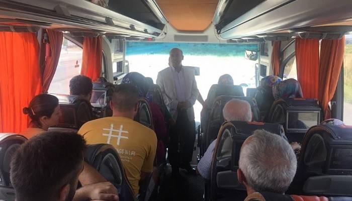 Biga'da kurban bayramı sonrası trafik uygulaması