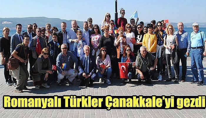 Romanyalı Türkler Çanakkale'yi gezdi