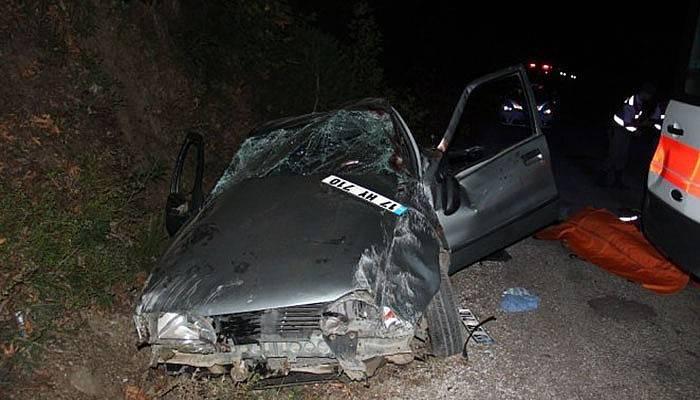 Çanakkale'de trafik kazası: 2 ölü, 1 yaralı (VİDEO)