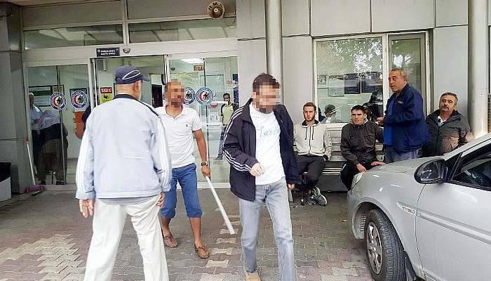 FETÖ şüphelisine sopayla saldıran kişi serbest kaldı