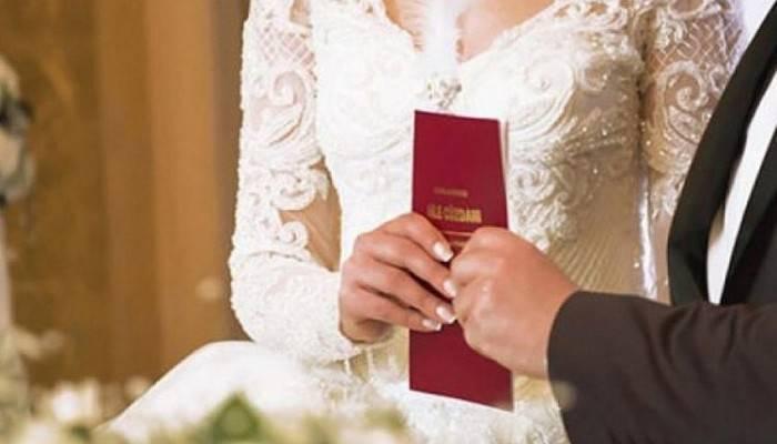 Nikah işlemi olan çiftlerin dikkatine