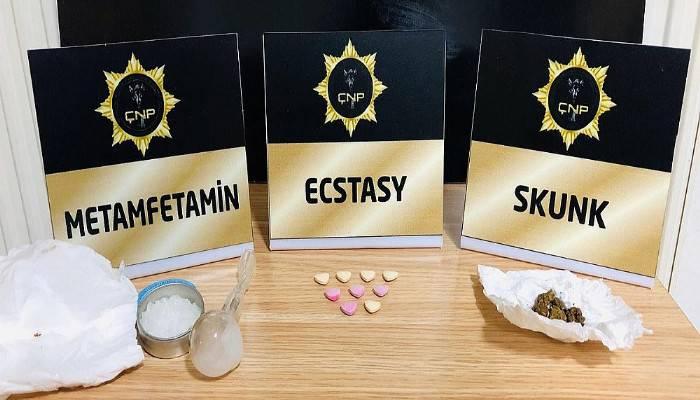 Çanakkale'de, uyuşturucu operasyonuna 4 tutuklama