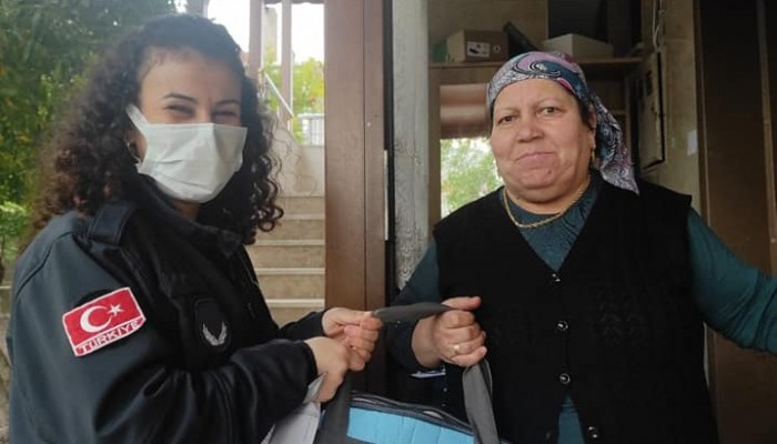 Ayvacık'ta 'Hoşgeldin Bebek' uygulaması devam ediyor