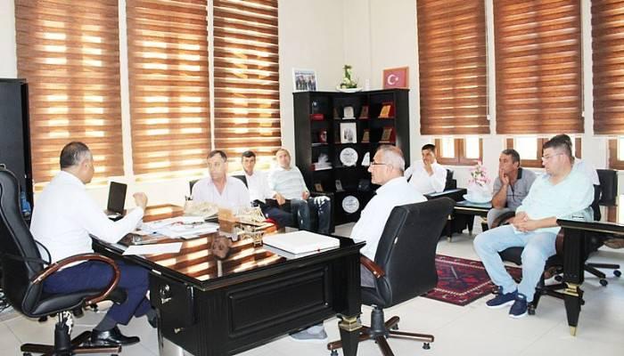 Yeni Marmara Tur Kooperatifi'nden Milli Eğitim Müdürüne Ziyaret