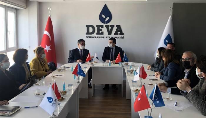 CHP'den DEVA Partisine ziyaret