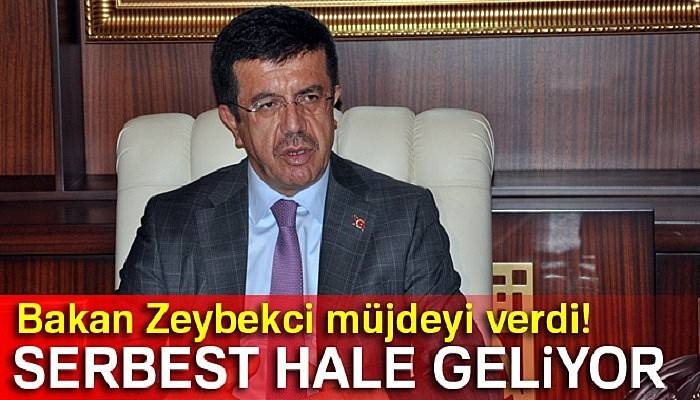 Zeybekci: 'Nahçıvan ile ticaret serbest hale geliyor'