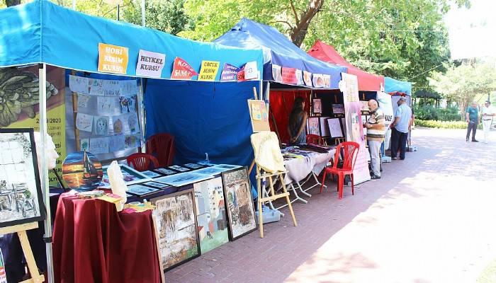 Sanat Sokakta etkinliği vatandaşla buluştu