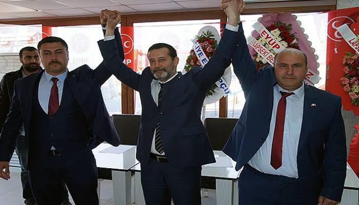 Lapseki MHP ilçe Başkanı Hüseyin Doğan oldu