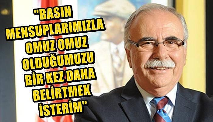 Belediye Başkanı Gökhan'ın 10 Ocak Çalışan Gazeteciler Günü mesajı