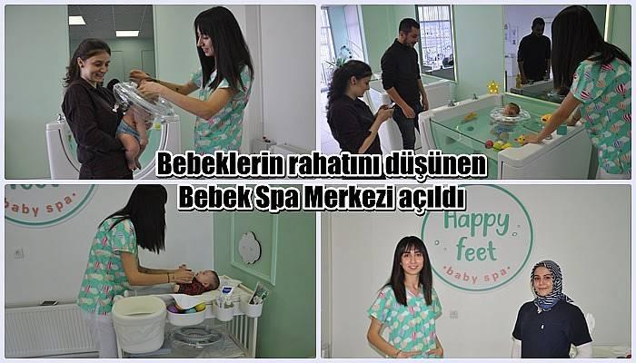 Bebeklerin rahatını düşünen Bebek Spa Merkezi açıldı