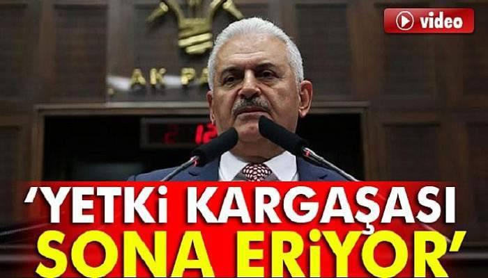 Başbakan Yıldırım: TBMM'ye sunulan anayasa teklifi...