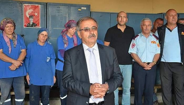 Özacar Belediye Personeliyle Bayramlaştı