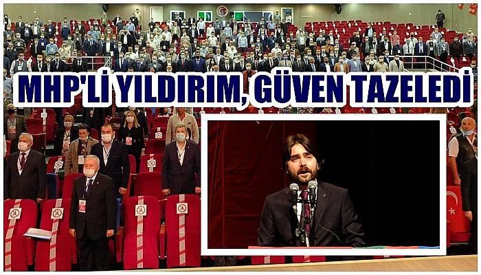 MHP'de İl Başkanı Yıldırım güven tazeledi (VİDEO)