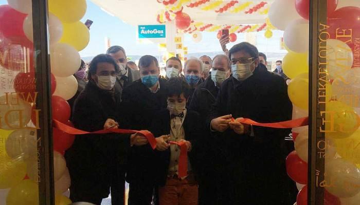 Belediye akaryakıt istasyonu açıldı
