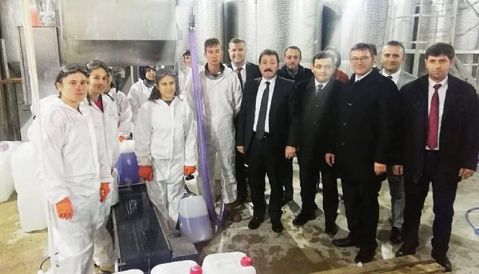 Vali Orhan TAVLI, Yenice Mesleki ve Teknik Anadolu Lisesi'ni Ziyaret Etti