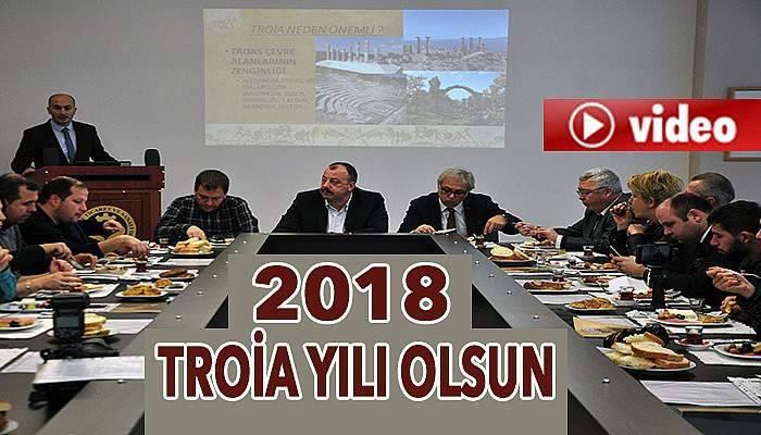 Turizmcilerin 'Troia Yılı' çabası (VİDEO)