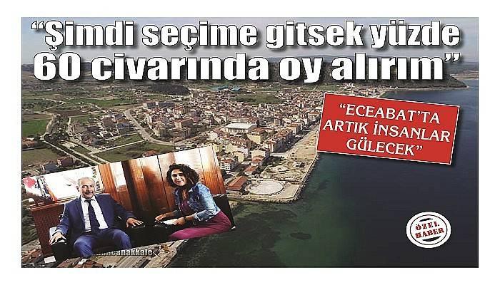 """""""ECEABAT'TA ARTIK İNSANLAR GÜLECEK"""""""