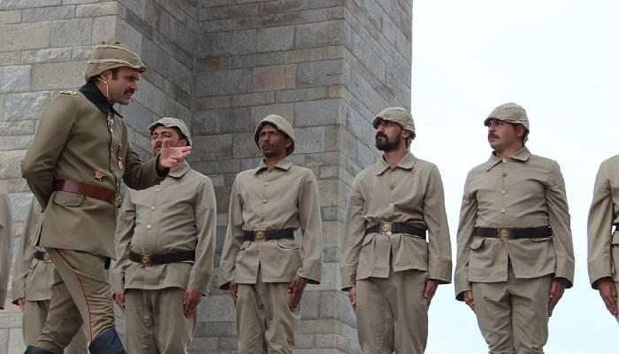 Tarihi alanlarda, tarihi canlandırıyorlar (VİDEO)
